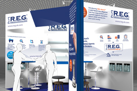 Design for exhibitions and exhibition stands